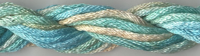 Caron Collection Waterlilies0200 Aquamarine