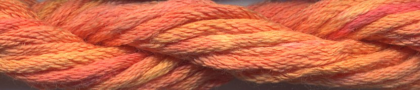 Caron Collection Waterlilies0208 Tangerine