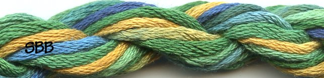 Caron Collection Waterlilies0310 Parrot