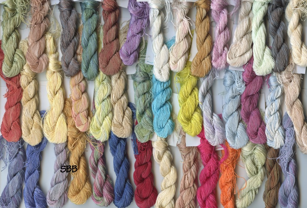 Clearance Stitches and Spice Fibers12 Ply Silk Assortment Of 42 Colors