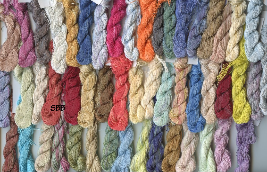 Clearance Stitches and Spice Fibers12 Ply Silk Assortment Of 51 Colors