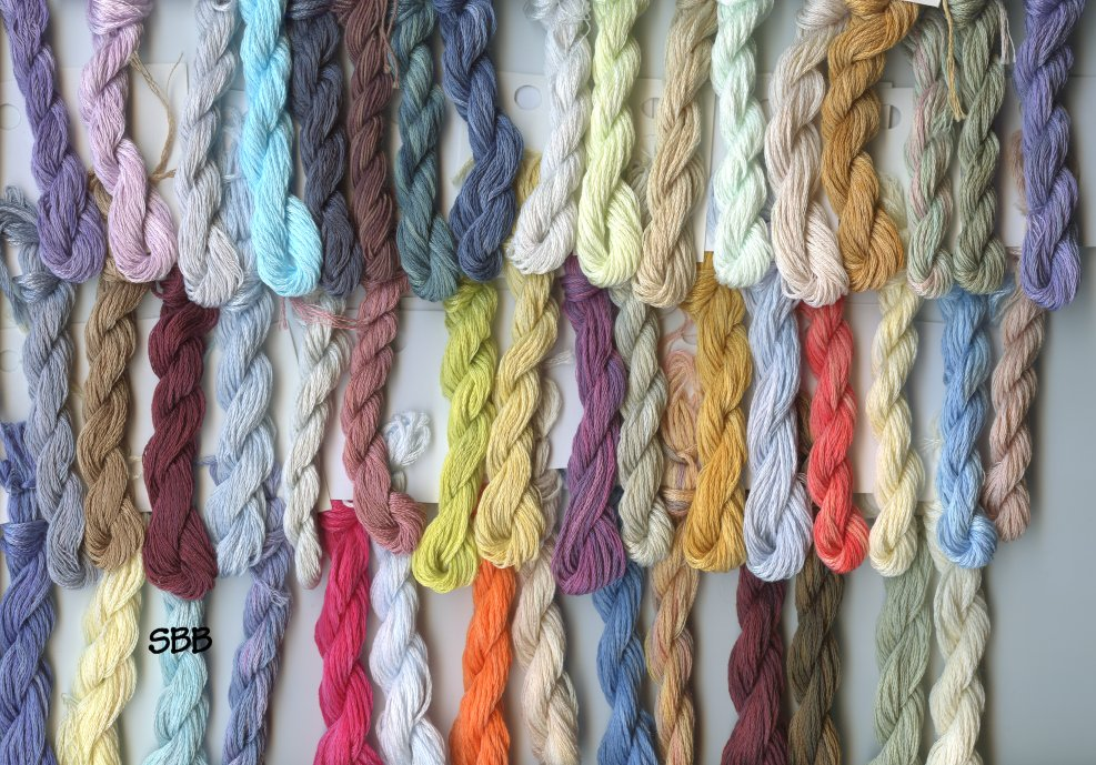 Clearance Stitches and Spice Fibers Stranded Cotton Assortment Of 47 Colors