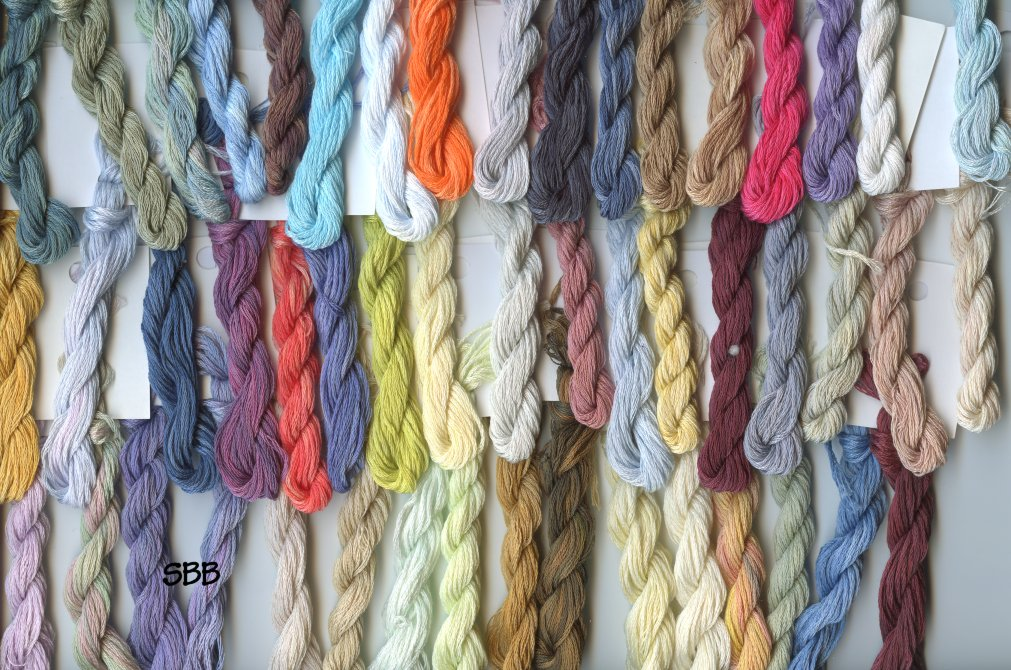 Clearance Stitches and Spice Fibers Stranded Cotton Assortment Of 50 Colors