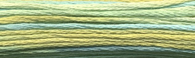 DMC Size 5 Pearl Cotton Color Variations4060 Weeping Willow