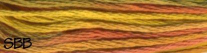 DMC Size 5 Pearl Cotton Color Variations4126 Desert Canyon