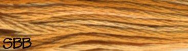 DMC Size 5 Pearl Cotton Color Variations4128 Gold Coast