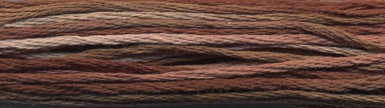DMC Size 5 Pearl Cotton Color Variations4140 Driftwood