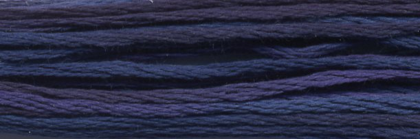 DMC Size 5 Pearl Cotton Color Variations4240 Mid Summer Night