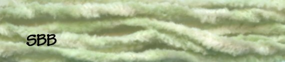 Dames Of The Needle Chenille Spring Green
