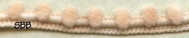 Dames Of The Needle Pom Pom 1 Yard ~ Barely There