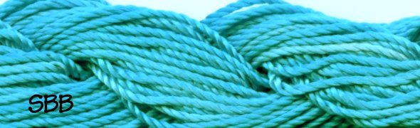 Dinky-Dyes 1900d Silk Perle107 Turquoise