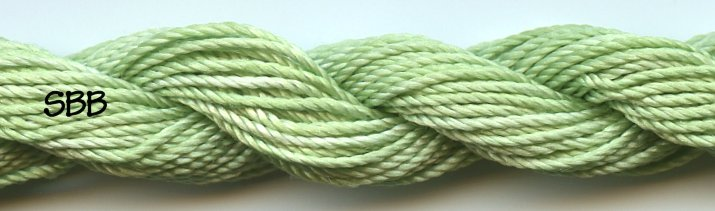 Dinky-Dyes 1900d Silk Perle155 Spearmint