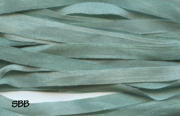 Dinky-Dyes 4mm Silk Ribbon020 Gum Leaves