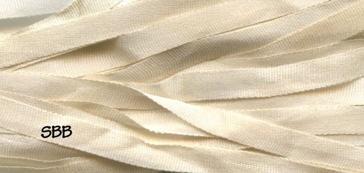 Dinky-Dyes 4mm Silk Ribbon061 Pearl