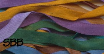 Dinky-Dyes 4mm Silk Ribbon124 Freo