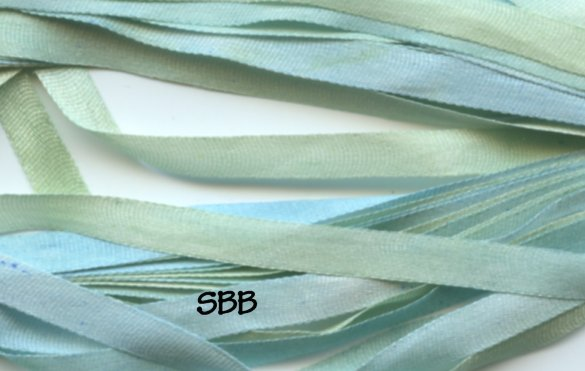 Dinky-Dyes 4mm Silk Ribbon214 Happy Hannah