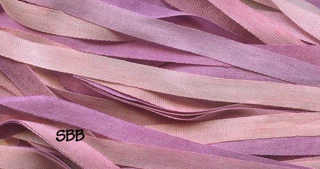 Dinky-Dyes 4mm Silk Ribbon036 Merlot