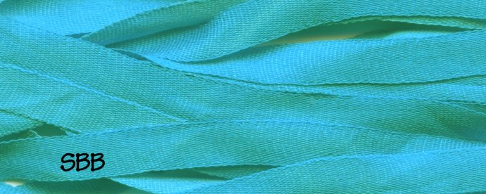 Dinky-Dyes 4mm Silk Ribbon107 Turquoise