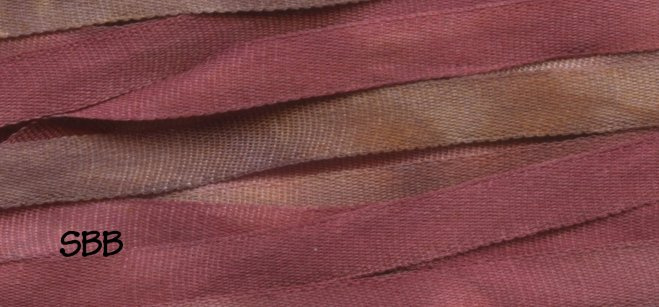 Dinky-Dyes 4mm Silk Ribbon145 Cherry Ripe