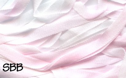 Dinky-Dyes 7mm Silk Ribbon004 Strawberry Ice