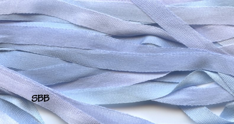 Dinky-Dyes 7mm Silk Ribbon079 Snowy Rive