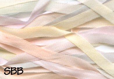 Dinky-Dyes 7mm Silk Ribbon083 Peach Melba