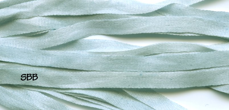 Dinky-Dyes 7mm Silk Ribbon183 Blue Ice