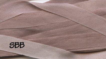 Dinky-Dyes 7mm Silk Ribbon192 Mocha Mauve