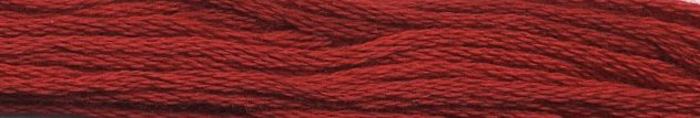 Gentle Art Sampler Thread Buckeye Scarlet