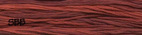 Gentle Art Sampler Threads Country Redwood