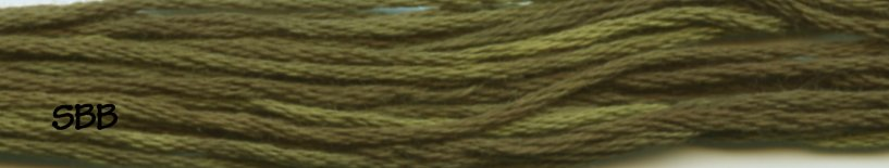 Gentle Art Sampler Threads Moss