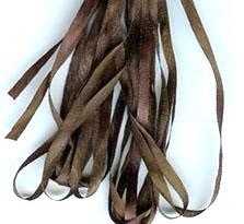 Gloriana 13mm Silk Ribbon166 Coffee Bean