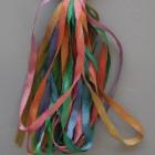 Gloriana 13mm Silk Ribbon191 Peacock