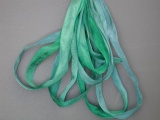 Gloriana 4mm Silk Ribbon019 Tropical Sea