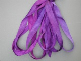 Gloriana 4mm Silk Ribbon025 Purple Night Sky