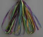Gloriana 4mm Silk Ribbon066A Highland Garden Dark
