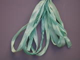Gloriana 7mm Silk Ribbon108 Monet's Pond Green