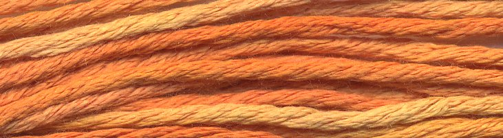 Gloriana Silk Floss095 Opulent Orange