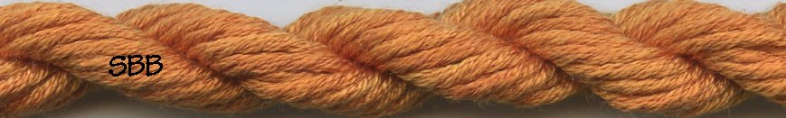 Gloriana Silk Floss241 Tangerine Dark