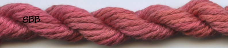 Gloriana Silk Floss 257 Coral Red