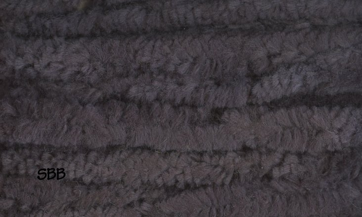 Lady Dot Chenille Clearance  Licorice