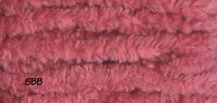 Lady Dot Chenille Clearance  Peony
