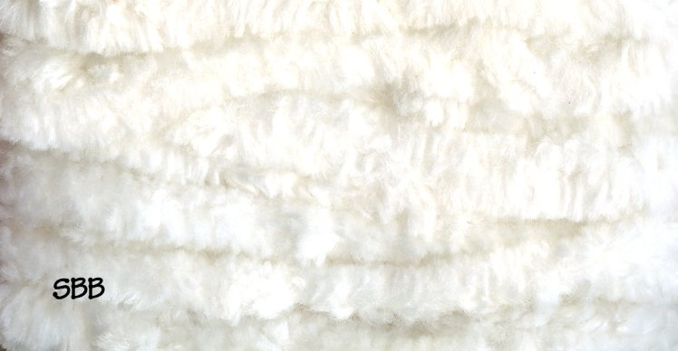 Lady Dot Chenille Clearance  Snow