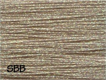 Rainbow Gallery Crystal Braid CR09 Vatican Gold Pearl
