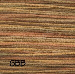 Rainbow Gallery Mandarin Floss M929 Golden Hills