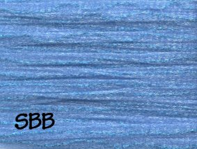 Rainbow Gallery Petite Frosty Rays  PY040 Medium Blue Gloss