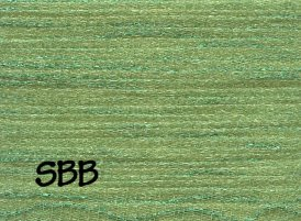 Rainbow Gallery Petite Frosty Rays  PY081 Grass Green Gloss