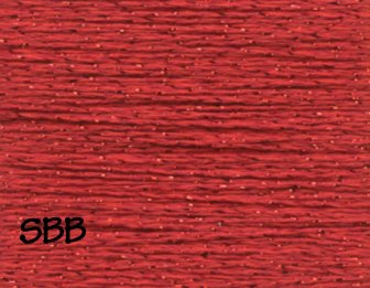 Rainbow Gallery SP144 Christmas Red