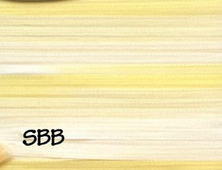 Rainbow Gallery Splendor Silk 4mm Ribbon Multi Color RS879 Pale Yellows