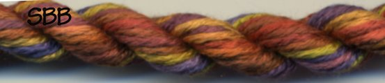 Thread Gatherer Silk 'N Colors0239 Turkey Feathers